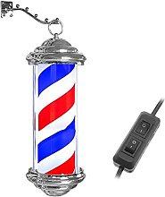 WXXWJ Capelli 28Cm/38Cm Barber Shop Pole Rotante