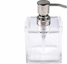 WXZX Manuale Trasparente Lozione Dispenser, 280ml