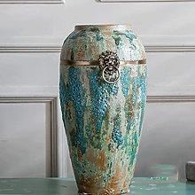 WYBFZTT-188 Vaso in Ceramica con Anello in Rame