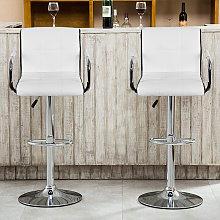 WYCTIN® Set di 2 sedie da pranzo con sgabello da
