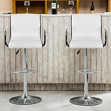 WYCTIN®_Set di 2 sedie da pranzo con sgabello da