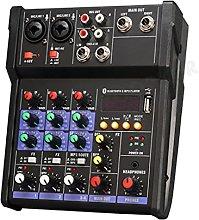 WZHZJ Bluetooth 4 Controller DJ Mixer Professional