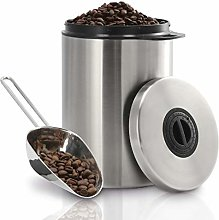 Xavax - Barattolo per caffè, Acciaio INOX,