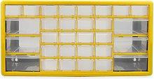 Xbite Ltd - Armadio di stoccaggio - 30 cassetti |