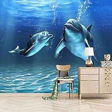 XHXI Pittura murale su tela immagini stampa blu