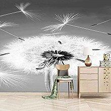 XHXI Schermo Inferiore Dandelion White 3D Carta da