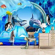 XHXI Sfondo dello schermo Dauphin Cartone animato