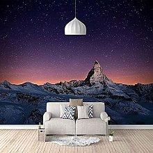 XHXI Snow Mountain Landscape Bottom Star 3D Carta