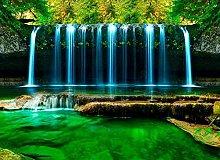 XHXI Wonderland Water Waterfall 3D Murales Casa
