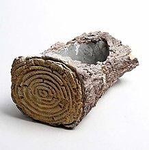 XHZJ Creativo Imitazione albero di testa Cemento