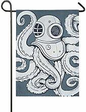 XiangHeFu 28x40 Pollici Cortile Giardino Bandiera