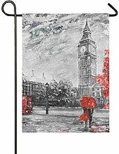 XiangHeFu Affari Londra Autunno Paesaggio Big Ben