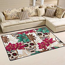XiangHeFu Area Rugs for Living Dining Bedroom