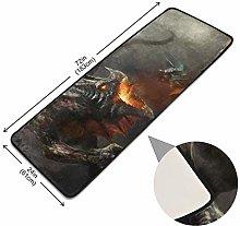 XiangHeFu Carpet Dragon Fighting with Warrior Pads