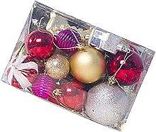 xiaoyu shop - 1 scatola di palline di Natale,