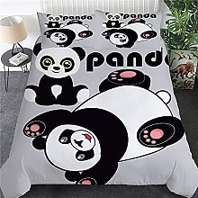 XIAZILH Simpatico Panda Stampato 3 Pezzi Set
