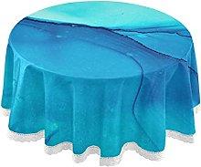 Xigua - Tovaglia per tavoli rotondi, 152,4 cm, in