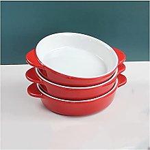 XILIN-1987 Teglia Forno Ceramica Set di 3 Piatti