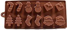 XinYiC - Stampo per torte di cioccolato, 2 pezzi,