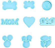 XiuginFU 3D Cartoon Bakeware Tools Stampo per