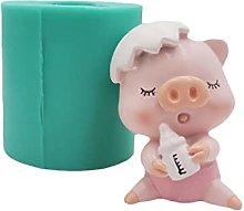 XiuginFU Stampo per biscotti a forma di maialino,