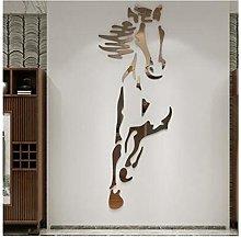 XIXI-Home Cavalli Autoadesivi da Parete Acrilico