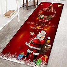 XIYAO Tappeto per tappeti natalizi Tappetini per