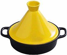 XKun - Vaso da minestra in ghisa smaltata, 20 cm