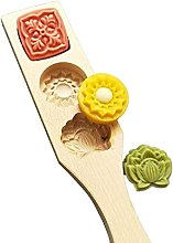 xllLU - Stampo in legno per torta di luna con