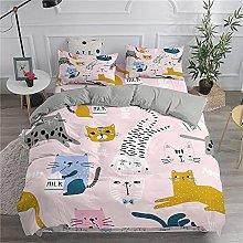 XSXS Grazioso set di biancheria da letto con