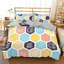 XSXS Set di biancheria da letto con motivo