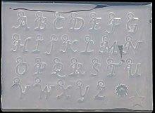 Xuebai 26 Stampo per Lettere Inglesi di Piccole