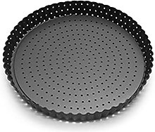 Xuebai - Teglia per pizza con fori e fondo