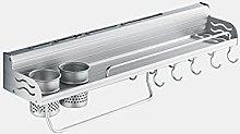 XUEFX Portacoltelli da Cucina Moderno Alluminio