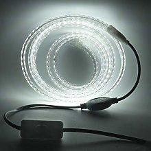 Xunata striscia LED con interruttore, 220 V, 2835