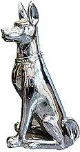 XXZZL Doberman Pinscher Modello Statue Sculture