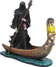 XXZZL Statua di Grim Reaper Statua di Streghe,