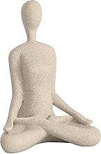 XXZZL Statua Scultura Donna Statuetta Yoga Lady