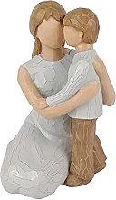 XXZZL Statuette di Madre e Figlio, Statua di Madre
