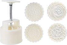 Xzbnwuviei Stampo in plastica per torta di luna