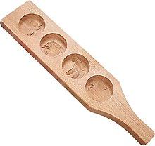 Xzbnwuviei, stampo rotondo in legno intagliato 3D,