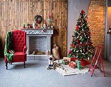 Y·JIANG - Dipinto natalizio con numeri, una