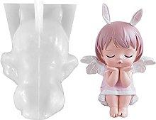 yahede Stampo in Silicone A Forma di Angeli 3D,