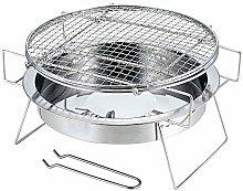 YAMAZA Barbecue Portatile Mini Stufa A Legna Rete