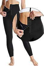 YANANCCE Leggings da Donna, Pantaloni Sportivi,