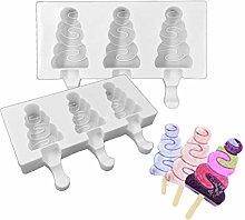 Yanhonin - Stampo per ghiaccioli, in silicone,