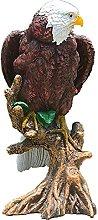YANRUI Eagle Statua Resina Scultura Artigianato