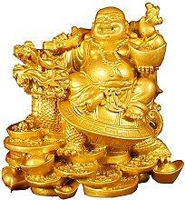 YANRUI Maitreya Buddha Statua Decorazione Feng