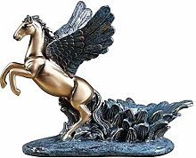 YANRUI Pegasus Statua Artigianato Modello Scultura