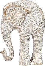 YANRUI - Statua in resina con elefante, scultura